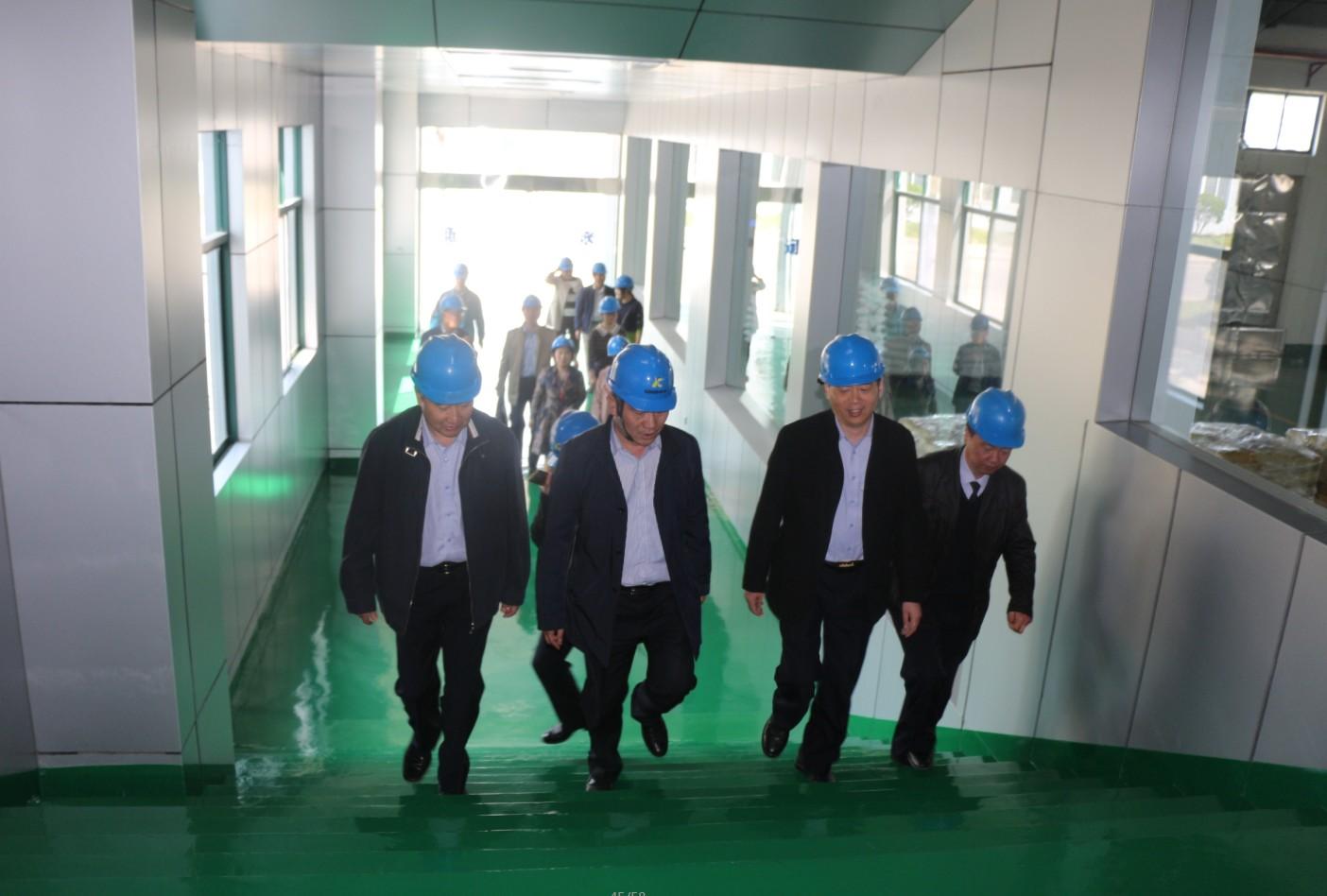 连云港出入境检验检疫局莅临我公司指导工作